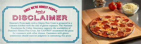 domino pizza free domino s pizza gluten free pizza review my gluten free