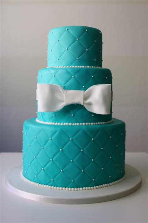 Wedding Cake Blue by Blue Cake