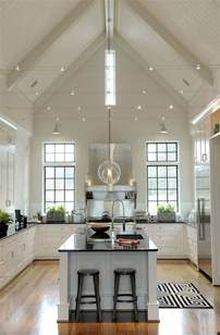 Kitchen Lighting Ideas Vaulted Ceiling by Best 20 Vaulted Ceiling Kitchen Ideas On Pinterest