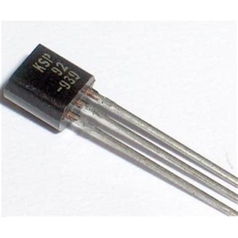 pnp transistor high voltage ksp92 pnp high voltage transistor 28 images a92 high voltage pnp transistor ksp92 pnp high