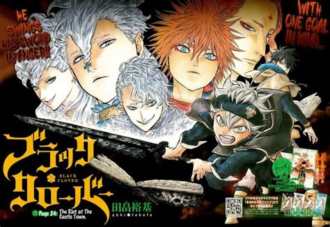 black clover mais nomes   elenco  anime tv