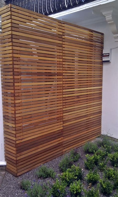 privacy screen for fence open connection to nature warm inviting stylish relaxing uni design semester 3