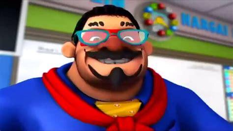 clover supernova karakter serial boboiboy