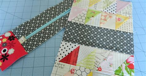 Triangle Patchwork - s o t a k handmade triangle patchwork box pouch
