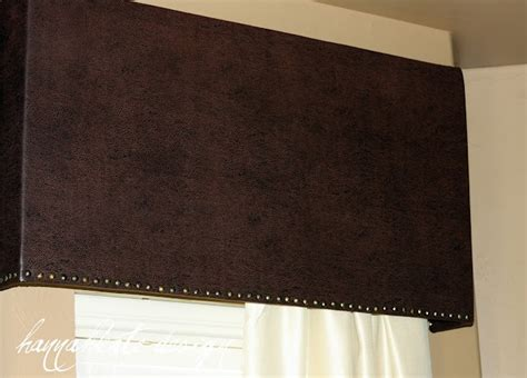 Foam Board Window Valance Diy Structured Valance Diy Home Ideas