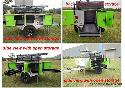 Caravan Awning Side Walls Small Pull Behind Camper Small Tent Trailers For Sale