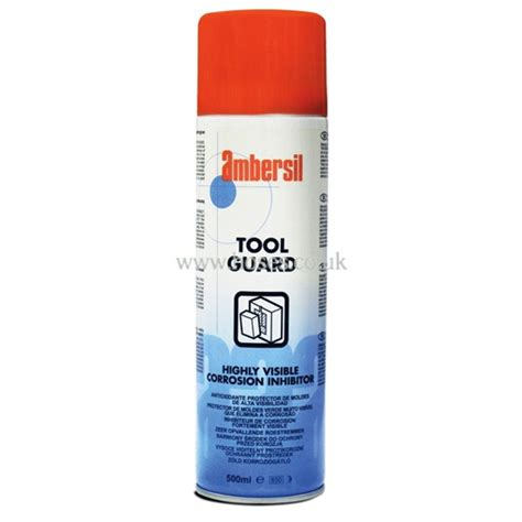 Tool Guard Spray Part Number 302351 ambersil highly visible corrosion inhibitor tool guard