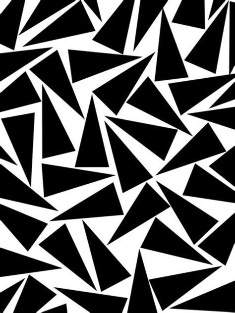 black and white triangle pattern black triangle pattern patterns black and triangles