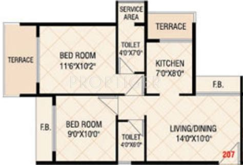 650 sq ft apartment floor plan 650 sq ft 2 bhk 2t apartment for sale in today empire