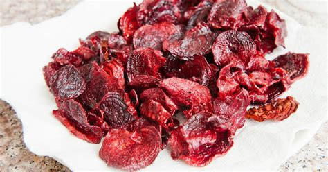 hot chips dr oz dr oz healthy liver baked beet chips with rosemary recipe