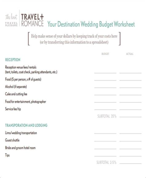 Destination Wedding Budget Spreadsheet by Best 25 Wedding Cost Breakdown Ideas On Your