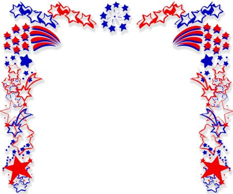 patriotic clipart patriotic page borders clipart best