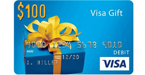 1 Dollar Visa Gift Card - new giveaway five win 100 visa gift cards hip2save