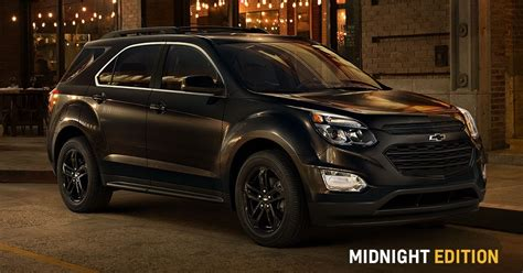 chevy equinox midnight edition chevrolet tennessee chevy tired of mainstream
