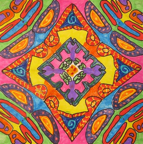 radial pattern in art radial name designs 5th 6th grade art is basic an