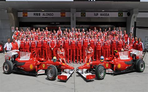 Ferrari F1 Team by 2010 China Gp Saturday In High Resolution Images