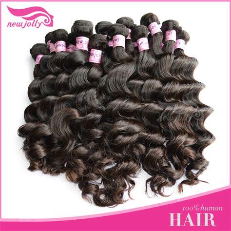 nature weavon aaa quality unprocessed machine made brazilian hair weavon