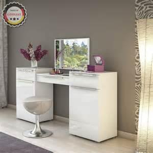 schmink kommode toaletka biała sekretarzyk z lustrem stołek sklep