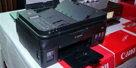 Printer Canon G4000 canon rilis printer quot tinta isi ulang quot pixma g4000 kompas