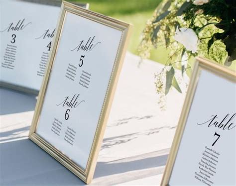 Wedding Seating Chart Seating Chart Template Wedding Seating Cards Alphabetical Seating Wedding Seating Place Cards Template