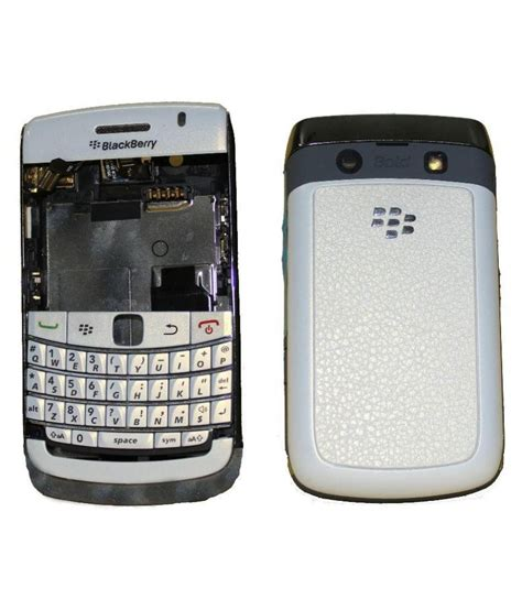 Spare Part Blackberry Harga emrse replacement housing for blackberry bold 9780 white mobile spare parts at