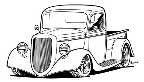 hot rod cars coloring pages free coloring pages of hot rod trucks