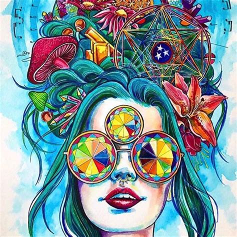 In Trippy Drawings by I Can Stare At Trippy All Day I Just Might
