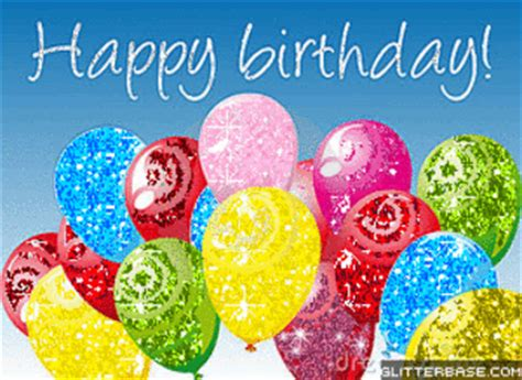 Animated Happy Birthday Wishes 4 U Balloons Gifs Find Share On Giphy