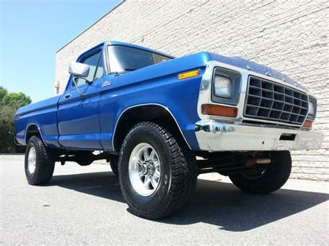 1979 ford f150 4x4 short bed for sale buy used 1979 ford f150 4x4 short bed rebuilt 351 v8 less