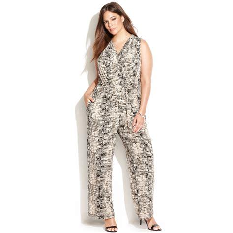 Jumsuit Anak Size S 3 calvin klein plus size sleeveless snakeskin print jumpsuit lyst