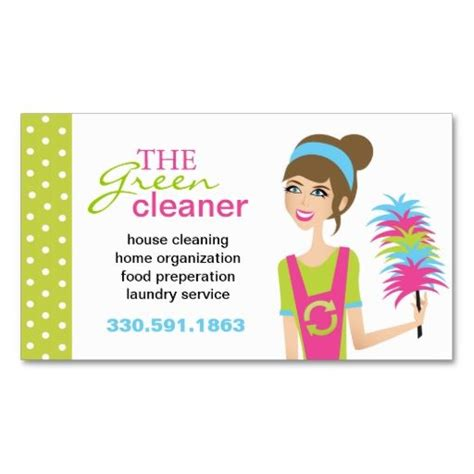 Cleaning Business Card Templates by Eco Friendly Cleaning Services Business Cards I This