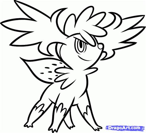 pokemon coloring pages victini shaymin coloring pages coloring home