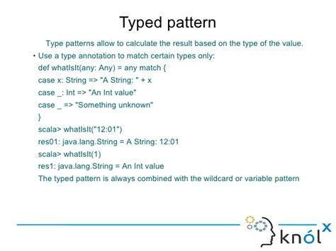 scala pattern matching contains introducing pattern matching in scala