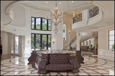 bel air mansion with foyer pricey pads - Mansion Foyer