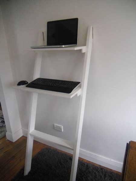 Diy Standing Desk Standing Desk Shelf
