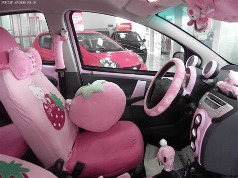 Hello Car Interior by Hello Byd F0 Pink Car Hell From China Autoevolution