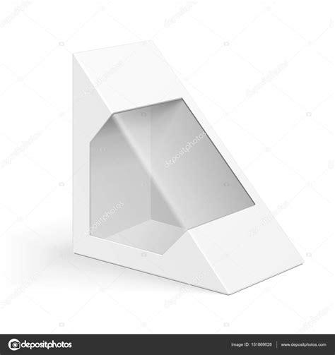 triangle packaging template blanco tri 225 ngulo de cart 243 n caja de empaque para sandwich