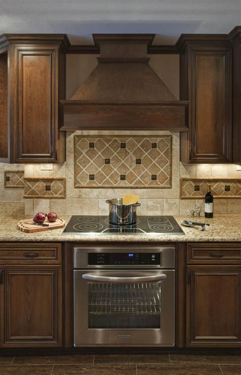kitchen vent ideas backsplash ideas for range tops along with wooden vent and diagonal tile