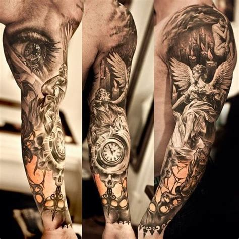 full arm tattoo buscar con google tattoos pinterest