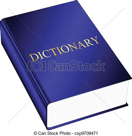doodle free dictionary vector clip of vector illustration of dictionary