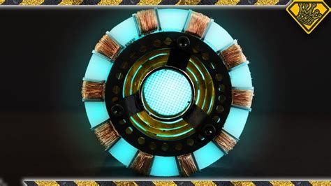 iron man arc reactor youtube