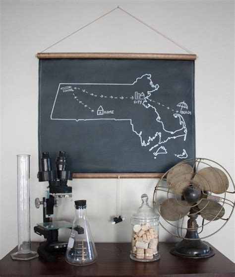 chalk paint york chalkboard state maps custom state map 50 states