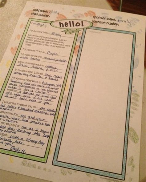 1000 ideas about letter writing template on pinterest