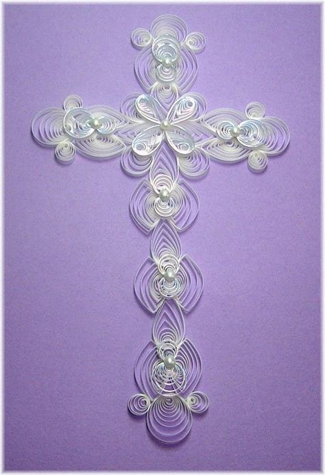 another beautiful cross paper quilling patterns free