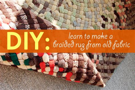 How To Make A Handmade Carpet - diy learn how to make a beautiful braided rug from
