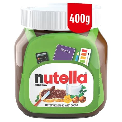 Nutella Ferrero 375 Gram kinder chocolate spread