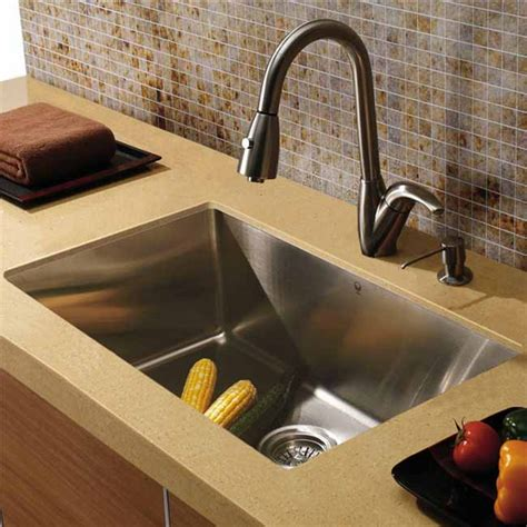 Mercer Kitchen Sinks All In One 32 Quot Mercer Stainless Steel Undermount Kitchen Sink Set With Romano Faucet Grid