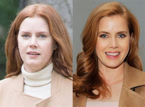 actresses without their makeup amy adams from stars without makeup e news