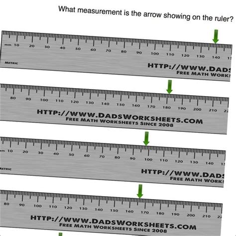 printable ruler with fractions measurement worksheets centimeters on ruler math