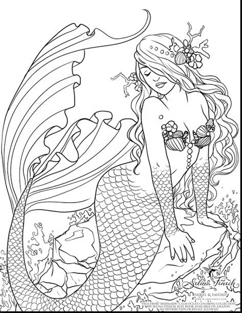 hard coloring pages of mermaids top 10 hard coloring pages of mermaids photos free